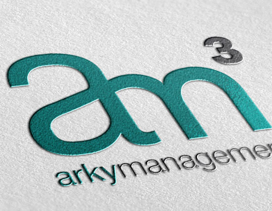 Arky Management Logo Design